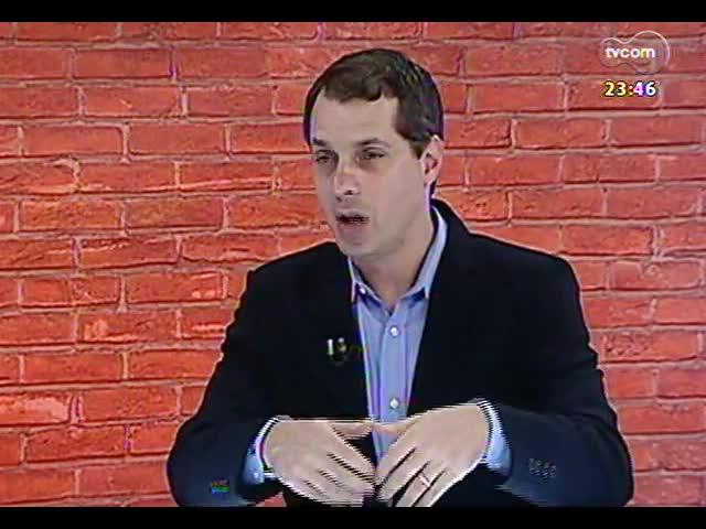 Mãos e Mentes - Secretário de relações internacionais da Ufrgs, professor Nicolas Maillard - Bloco 2 - 22/11/2013