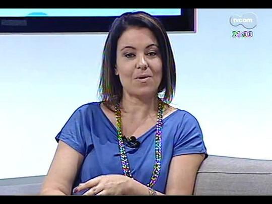 TVCOM Tudo Mais - Aline Mendes dá dicas do que comer antes e depois da malhação