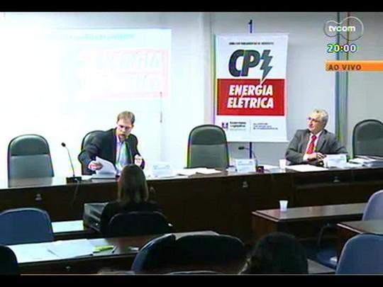 TVCOM 20 Horas - Boicote ou desinteresse? O que está havendo com a CPI da energia elétrica na Assembleia Legislativa? - Bloco 1 - 19/06/2014