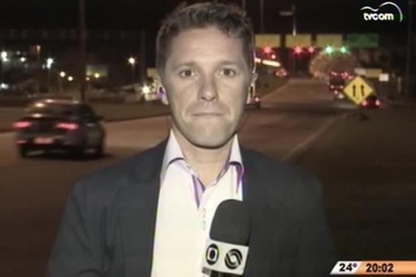 TVCOM 20h - Acidente chama atenção para falta de mobilidade em Florianópolis - 1°Bloco - 29.10.14