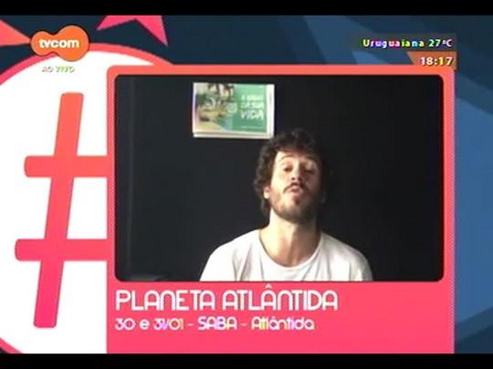 #KnalVERÃO - Estreia na TVCOM com informações de trânsito na saída para o litoral - Bloco 4 - 12/12/2014