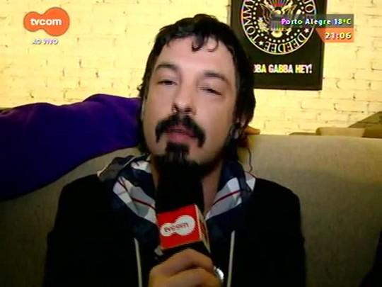 TVCOM Tudo Mais - Lúcio Brancato vai ao Estúdio Gorila para entrevistar pilares do rock gaúcho
