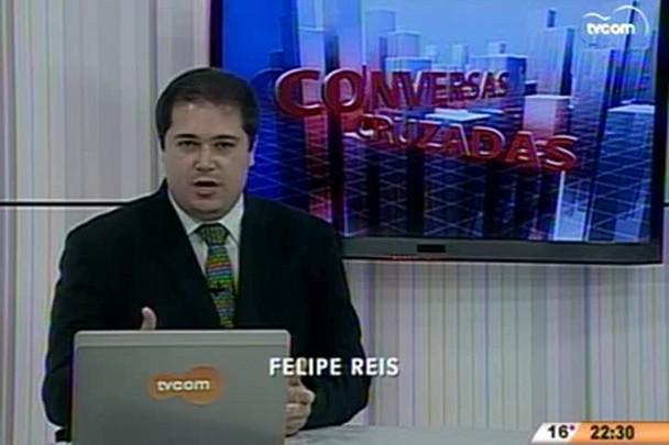 Conversas Cruzadas - Prefeito César Souza Junior avalia gestão em Florianópolis - 2º Bloco - 21.07.15