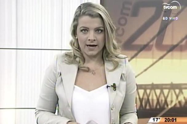 TVCOM 20 Horas - Menino de 7 anos baleado em Joinville foi atingido na nádega - 23.07.15