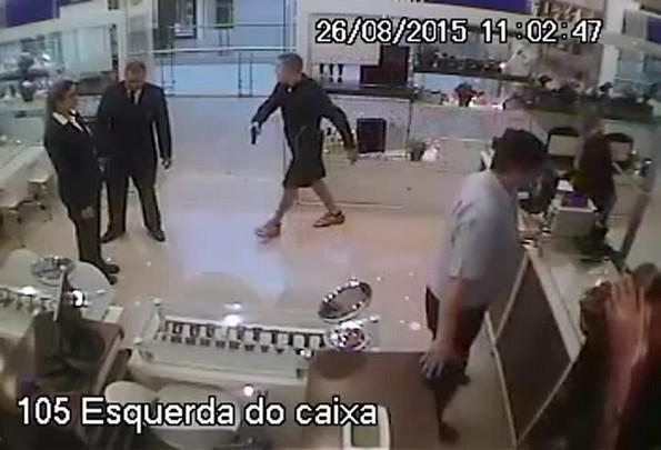 Assalto em Palhoça 26/08/2015