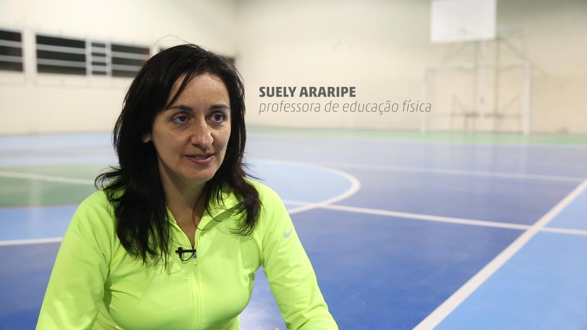 Professora de educação física desenvolve projeto de inclusão social para pessoas com deficiência