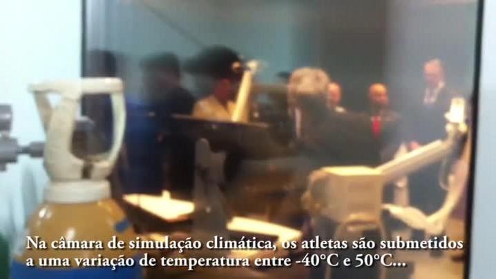 Inauguração do Laboratório de Performance em Ambiente Simulado (Lapas) da UFSM