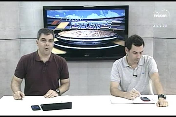 TVCOM Esportes. 2º Bloco. 12.02.16