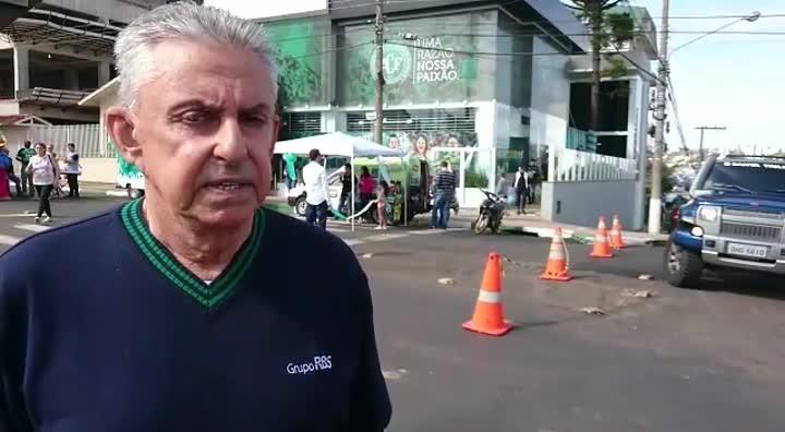 Direto de Chapecó, Roberto Alves fala da expectativa para final do Catarinense