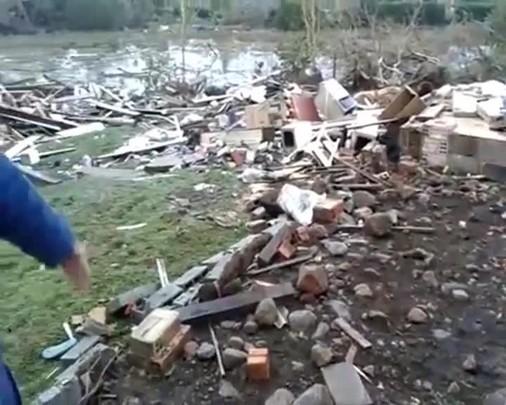 Comandante do Corpo de Bombeiros de Porto União fala sobre os estragos causados pelo vento forte na região