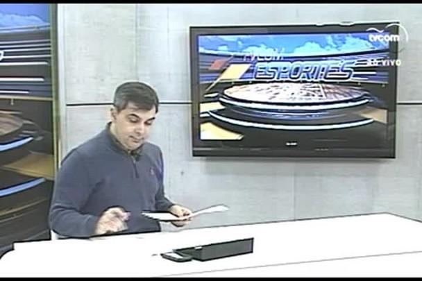 TVCOM Esportes. 3º Bloco. 26.07.16