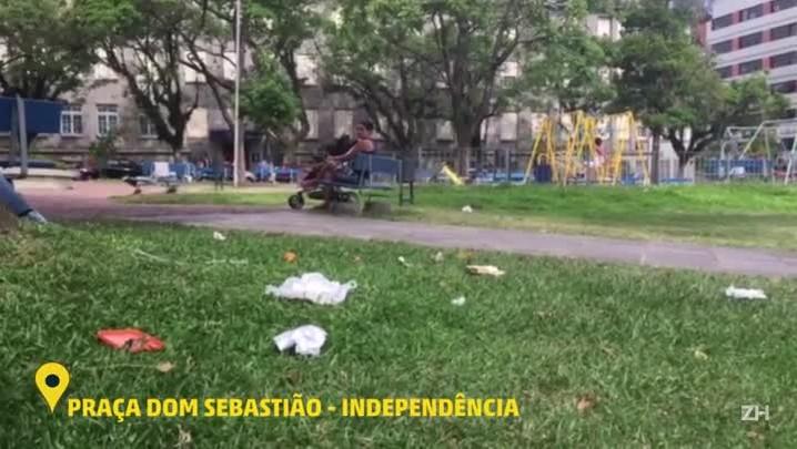 Veja como está a situação da Praça Dom Sebastião