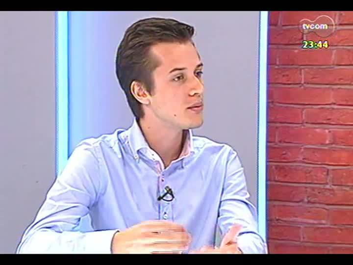 Mãos e Mentes - Presidente da AIESEC, Luiz Otavio Gemeli - Bloco 2 - 06/02/2013