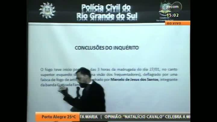 Polícia apresenta vídeos que embasaram indiciamento criminal de 16 pessoas pelo incêndio na Kiss