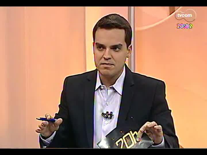 TVCOM 20 Horas - Juiz da Vara de Execuções Criminais fala sobre a situação do Presídio Central - Bloco 2 - 26/04/2013