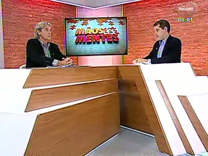 Mãos e Mentes - Agrônomo, mestre em Fitotecnia e doutor em Zootecnia, Carlos Nabinger - Bloco 3 - 04/06/2013