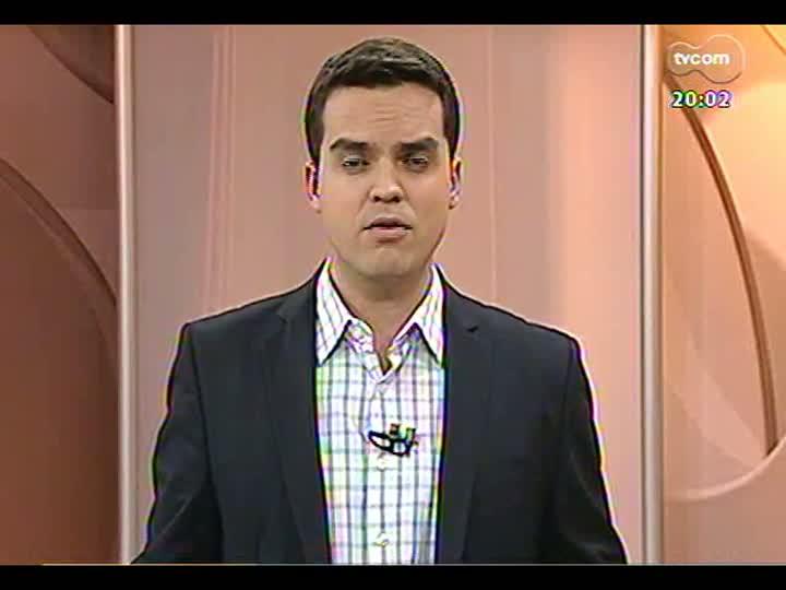 TVCOM 20 Horas - Bloqueio de avenida para treino da Seleção paralisa trânsito de Porto Alegre - Bloco 1 - 07/06/2013