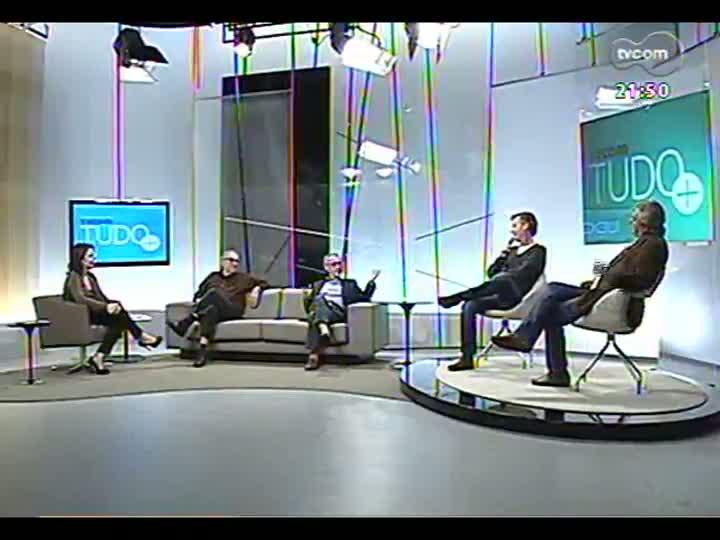TVCOM Tudo Mais - Segue a conversa com o professor Ruy Carlos Ostermann e três integrantes do Sala de Redação