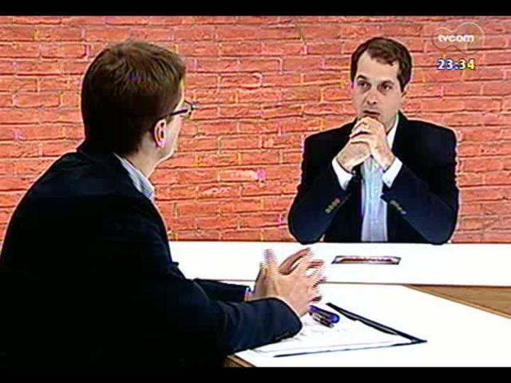 Mãos e Mentes - Executivo de negócios da Racon Consórcios, Cleber Sanguanini - Bloco 1 - 08/07/2013