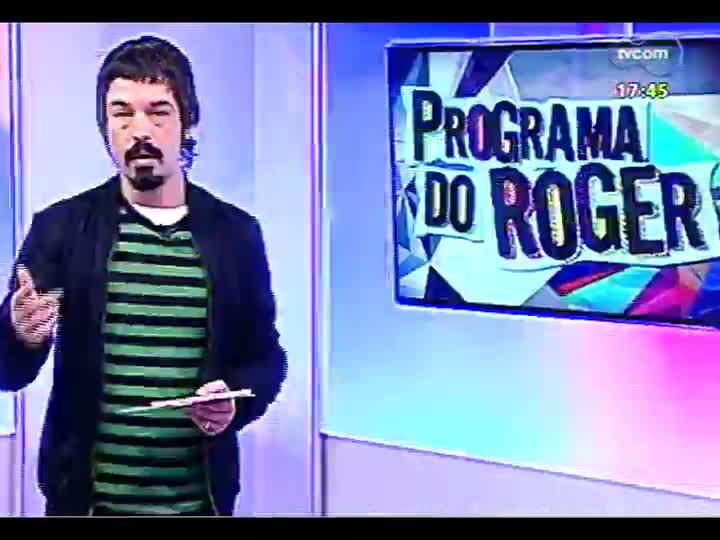Programa do Roger - Músico Cristiano Varisco lança o disco \'Aline\' - bloco 1 - 09/08/2013