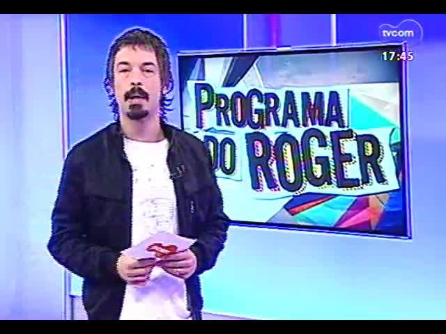 Programa do Roger - Conheça e confira o som da cantora Tabatha Fher - bloco 1 - 18/09/2013