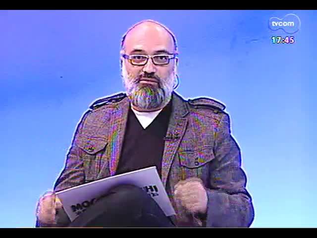Programa do Roger - Curadora Ana Zavadil fala sobre exposição \'Entre: Curadoria A-Z\' - bloco 1 - 27/09/2013
