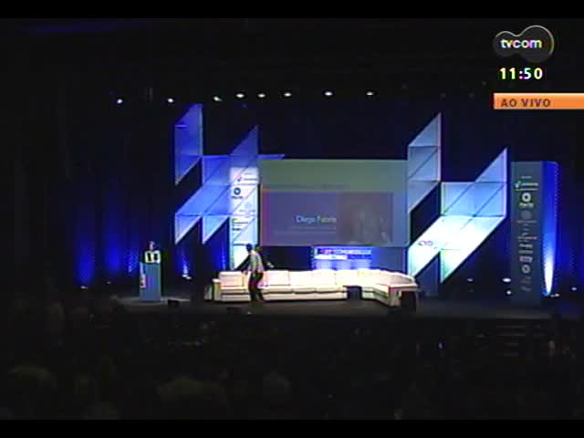 22º Congresso de Marketing ADVB - Painel \'Experiência de Marca\', com Diego Fabris - Sócio fundador e Diretor de Novos Negócios do Destemperados e Tiago Ritter - CEO e Fundador da W3haus