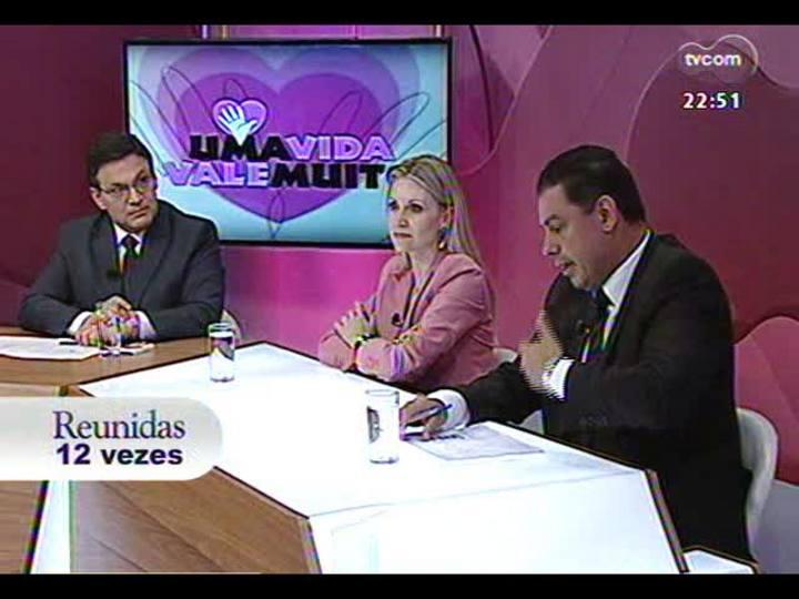 """Conversas Cruzadas - Debate sobre a nova campanha editorial do Grupo RBS em parceria com o MP, """"Uma Vida Vale Muito"""" - Bloco 3 - 10/12/2013"""