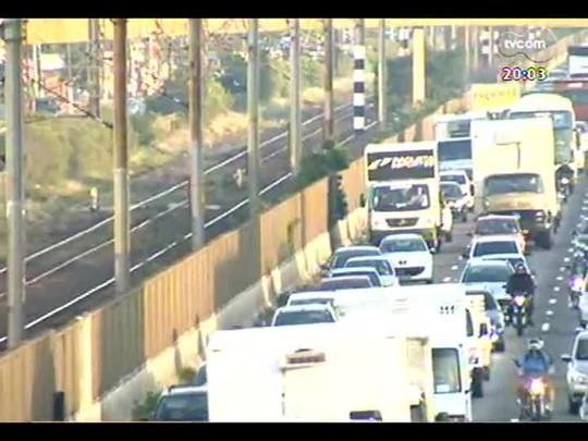 TVCOM 20 Horas - A greve dos metroviários - Bloco 1 - 13/12/2013