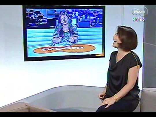 TVCOM Tudo Mais - Eleone Prestes fala sobre a inauguração da mostra Casa & Companhia Praia