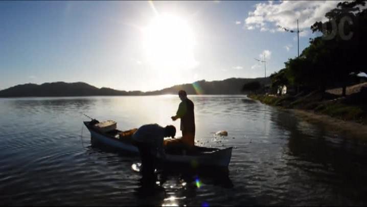 Cerco de tainha na Lagoa da Conceição