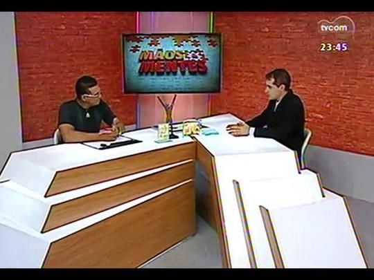 Mãos e Mentes - Paratleta Carlos Alerto Oliveira - Carlão - Bloco 3 - 16/04/2014