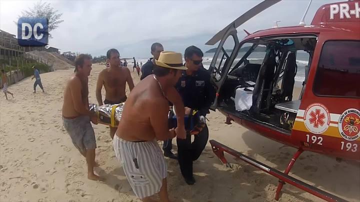 Surfista sofre mal súbito no Campeche