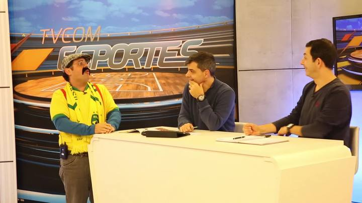 Joaquim do Pastel invade o TVCOM Esportes