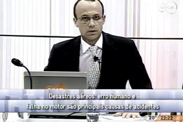 Conversas Cruzadas - Desastres aéreos: erro humano e falha no motor são principais causas de acidentes - 2º Bloco - 21/08/14