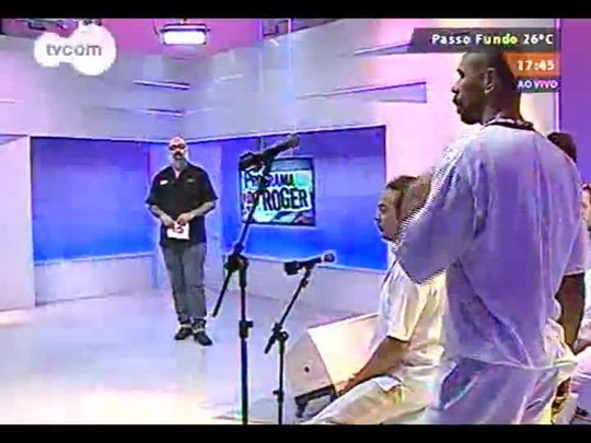 Programa do Roger - Banda Alabê Ôni - Bloco 1 - 21/08/2014