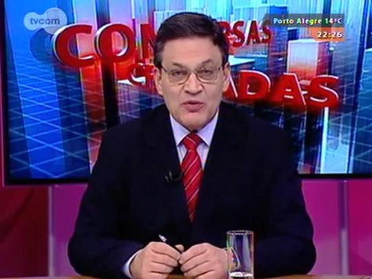 Conversas Cruzadas - Eleições 2014: entrevista com o presidente do TRE, desembargador Marco Aurélio Heinz - Bloco 2 - 29/08/2014