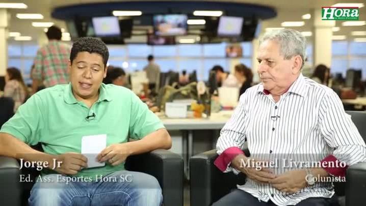 """Miguel Livramento: \""""Jogo entre Figueirense e Coritiba vai ser uma briga de foice no escuro\"""""""