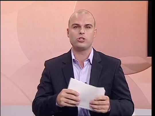 TVCOM 20 Horas - As condições de infraestrutura do Porto Seco para o Carnaval 2015 - 11/02/15