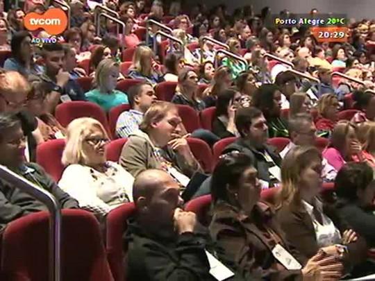 TVCOM 20 Horas - Professores e especialistas participam da segunda edição do Fórum Educação que dá certo - 28/04/2015