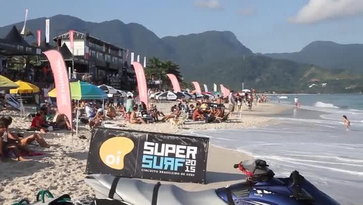 Confira os melhores momentos do SuperSurf 2015 em Maresias, SP