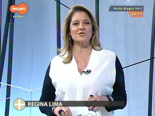 TVCOM Tudo Mais - Lúcio Brancato confere a preparação para o primeiro de três shows que Bebeto Alves faz na capital