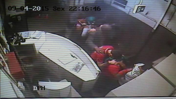 Vídeo mostra assalto a supermercado que terminou com morte de comerciante na Capital