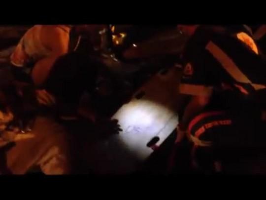 Adolescente é baleado na praça Saturnino de Brito