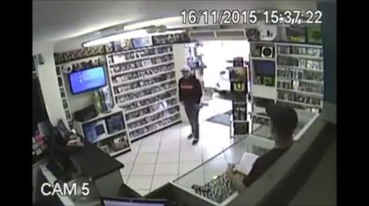 Assalto em loja no bairro Iririú em Joinville