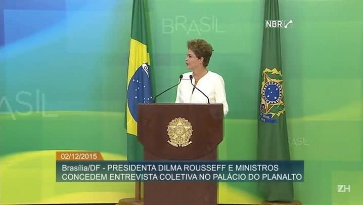 Íntegra: Pronunciamento da presidente Dilma Rousseff sobre processo de impeachment