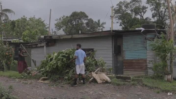 Ilhas Fiji são atingidas por forte ciclone