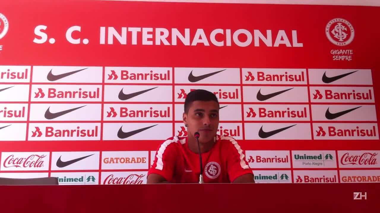 """Alisson Farias: \""""Estou trabalhando para confirmar o que Argel espera de mim\"""""""
