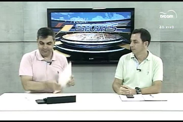 TVCOM Esportes. 3º Bloco. 04.03.16
