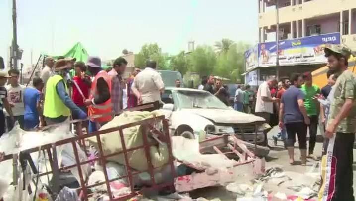 EI reivindica ataque que matou mais de 50 em Bagdá